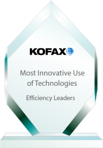 Efficiency Leaders Most Innovative Awards