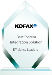 Efficiency Leaders Awards Best Integration